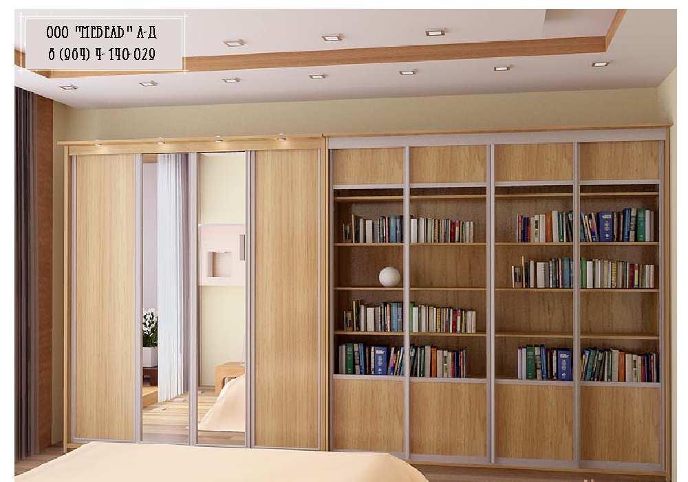 Книжные шкафы и мебель для библиотеки в витебске - фото, инт.